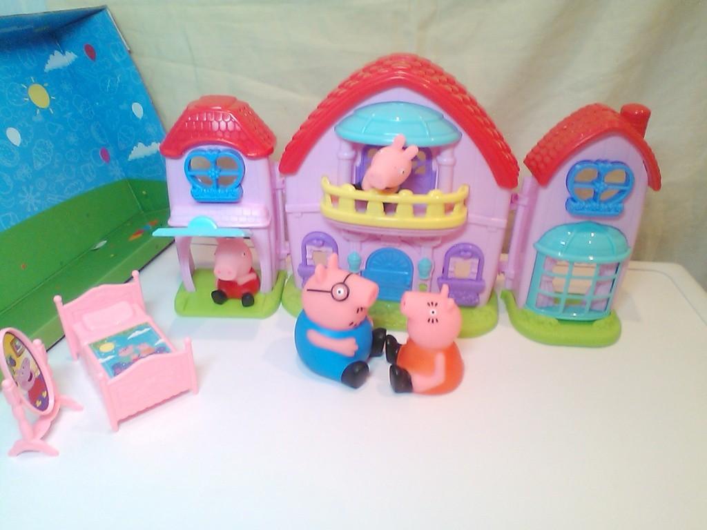 свинка пеппа игрушки все серии подряд курносики тиви 40 cthbz