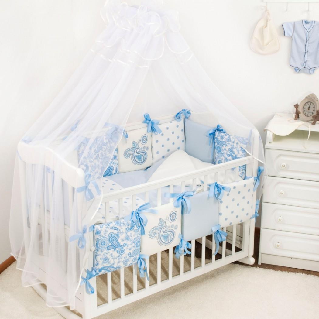 Комплекты в кроватку позволяют создать непревзойденный комфорт в кроватке для здорового сна малыша.